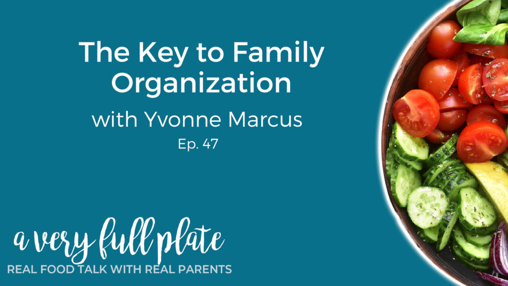 The Key to Family Organization title slide
