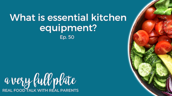 What is essential kitchen equipment title graphic