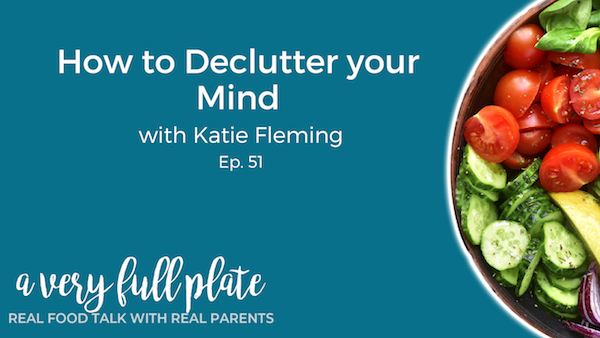How to declutter your mind title